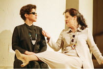 'COSI FAN TUTTE' (Mozart)~l-r: Soile Isokoski (Fiordiligi), Helene Schneiderman (Dorabella)~The Royal Opera, London WC2  19/02/1997