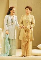 'COSI FAN TUTTE' (Mozart)~l-r: Helene Schneiderman (Dorabella), Soile Isokoski (Fiordiligi)~The Royal Opera, London WC2  19/02/1997