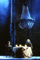 'DON GIOVANNI' William Shimell (Don Giovanni), Richard Van Allan (Leporello), John Connell (Commendatore) ENO  1985