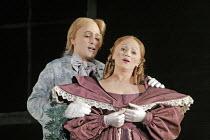 'DON PASQUALE' (Donizetti - conductor: Bruno Campanella   director: Jonathan Miller),Juan Diego Florez (Ernesto), Tatiana Lisnic (Norina),The Royal Opera / Covent Garden   London WC2         27/11/200...