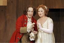 'DON PASQUALE' (Donizetti - conductor: Bruno Campanella   director: Jonathan Miller),Alessandro Corbelli (Dottore Malatesta), Tatiana Lisnic (Norina),The Royal Opera / Covent Garden   London WC2...