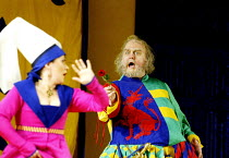 'FALSTAFF' (Verdi)~Soile Isokoski (Mrs Alice Ford), Bryn Terfel (Sir John Falstaff)~The Royal Opera / Covent Garden, London WC2            11/02/2003