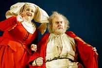 'FALSTAFF' (Verdi)~Stephanie Blythe (Mistress Quickly), Bryn Terfel (Sir John Falstaff)~The Royal Opera / Covent Garden, London WC2            11/02/2003