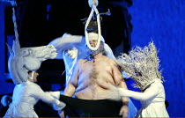 'FALSTAFF' (Verdi)~Act III - Windsor Great Park at midnight - Falstaff humiliated:Bryn Terfel (Sir John Falstaff)~The Royal Opera / Covent Garden, London WC2            11/02/2003