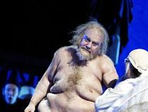 'FALSTAFF' (Verdi)~Act III - Windsor Great Park at midnight - Falstaff tormented and humiliated:Bryn Terfel (Sir John Falstaff)~The Royal Opera / Covent Garden, London WC2            11/02/2003