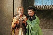 'FALSTAFF' (Verdi - conductor: Mark Wigglesworth   original director: Matthew Warchus),l-r: Rebecca de Pont Davies (Mistress Quickly), Jean Rigby (Mistress Meg Page),English National Opera / London Co...