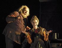 'FALSTAFF' (Verdi - conductor: Paul Daniel   original director: Matthew Warchus),Andrew Shore (Sir John Falstaff), Rebecca de Pont Davies (Mistress Quickly),English National Opera / London Coliseum  W...