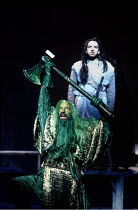 'GAWAIN' (Birtwistle)~John Tomlinson (Green Knight), Franois le Roux (Gawain)~The Royal Opera/Covent Garden WC2                      14/04/1994