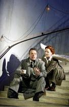'JEPTHA' (Handel - conductor: Paul McCreesh   director: Katie Mitchell)~Mark Padmore (Jeptha), Charlotte Ellett (Angel)~Welsh National Opera / Cardiff                17/05/2003