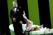 'LULU' (Berg)                                  (director: Richard Jones)~Robert Hayward (Dr Schn), Lisa Saffer (Lulu)~English National Opera/London Coliseum  WC2   01/05/2002