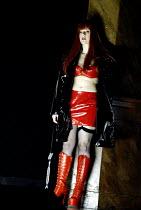 'LULU' (Berg)                                  (director: Richard Jones)~Lisa Saffer (Lulu)~English National Opera/London Coliseum  WC2   01/05/2002
