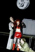 'LULU' (Berg)                                  (director: Richard Jones)~l-r: Susan Parry (Countess Geschwitz), Lisa Saffer (Lulu), John Graham-Hall (Alwa)~English National Opera/London Coliseum  WC2...