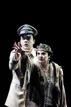 'RODELINDA' (Handel)~Jonathan Best (Garibaldo), Jean Rigby (Eduige)~Glyndebourne Touring Opera                   20/10/2001