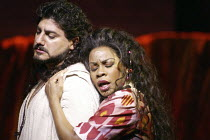 'SAMSON ET DALILA' (Saint-Saens - conductor: Philippe Jordan   director: Elijah Moshinsky)~Jose Cura (Samson), Denyce Graves (Dalila)~The Royal Opera / Covent Garden, London WC2         12/03/2004