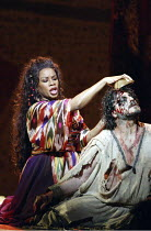 'SAMSON ET DALILA' (Saint-Saens - conductor: Philippe Jordan   director: Elijah Moshinsky)~Denyce Graves (Dalila), Jose Cura (Samson)~The Royal Opera / Covent Garden, London WC2         12/03/2004