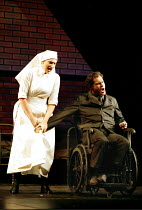 'THE SILVER TASSIE' (Turnage)~crippled Harry in hospital: Sarah Connolly (Susie), Gerald Finley (Harry Heegan)~English National Opera  16/02/2000