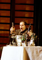 'THE SILVER TASSIE' (Turnage)~wracked with bitterness and frustration: Gerald Finley (Harry Heegan)~English National Opera  16/02/2000