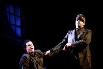 'THE SILVER TASSIE' (Turnage)~lamenting war injuries - l-r: Gerald Finley (Harry Heegan), David Kempster (Teddy) ~English National Opera  16/02/2000