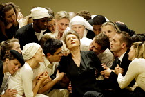 'THEODORA' (Handel)   (director: Peter Sellars)~centre: Lorraine Hunt-Lieberson (Irene)~Glyndebourne Festival Opera / East Sussex, England     10/08/2003