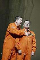 'THEODORA' (Handel - directors: Peter Sellars/Clare Whistler)~l-r: Stephen Wallace (Didymus), Paul Nilon (Septimus)~Glyndebourne Touring Opera                                           18/10/2003