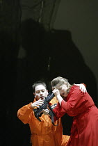 'THEODORA' (Handel - directors: Peter Sellars/Clare Whistler)~Stephen Wallace (Didymus), Anne-Lise Sollied (Theodora)~Glyndebourne Touring Opera                                           18/10/2003