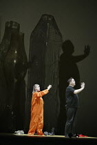 'THEODORA' (Handel - directors: Peter Sellars/Clare Whistler)~Anne-Lise Sollied (Theodora), Stephen Wallace (Didymus)~Glyndebourne Touring Opera                                           18/10/2003