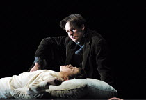 'THE TURN OF THE SCREW' (Britten)~Julian Leang (Miles), (above) Ian Bostridge (Peter Quint)~The Royal Opera/Covent Garden, London WC2     07/01/2002