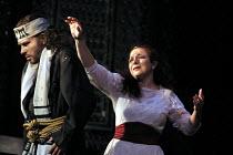 SALOME  by Richard Strauss  after Oscar Wilde  conductor: Carlo Rizzi  set design: Nick Rieti  costumes: Elizabeth Neumuller  lighting: Andre Diot  director: Andre Engel <br>~ Matthew Best (Jokanaan),...
