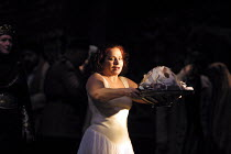 SALOME  by Richard Strauss  after Oscar Wilde  conductor: Carlo Rizzi  set design: Nick Rieti  costumes: Elizabeth Neumuller  lighting: Andre Diot  director: Andre Engel <br>~Eliane Coelho (Salome) wi...