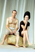 'THE SEAGULL' (Chekhov)   (director: Steven Pimlott)~Jonathan Cullen (Medvedenko), Kay Curram (Masha)~Chichester Festival Theatre / West Sussex, England        07/08/2003