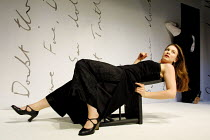 'THE SECRET LOVE LIFE OF OPHELIA' (Berkoff)~Freya Bosworth (Ophelia)~King's Head Theatre, London N1  04/07/2001
