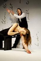 'THE SECRET LOVE LIFE OF OPHELIA' (Berkoff)~Freya Bosworth (Ophelia), Martin Hodgson (Hamlet)~King's Head Theatre, London N1  04/07/2001
