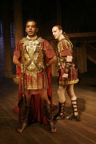 'SEJANUS' (Ben Jonson - director: Gregory Doran),l-r: Peter de Jersey (Macro), William Houston (Sejanus),Royal Shakespeare Company / Swan Theatre, Stratford-upon-Avon, England               26/07/2005...