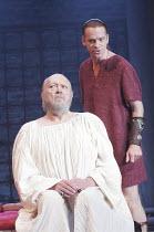 'SEJANUS' (Ben Jonson - director: Gregory Doran),l-r: Barry Stanton (Tiberius), William Houston (Sejanus),Royal Shakespeare Company / Swan Theatre, Stratford-upon-Avon, England               26/07/200...