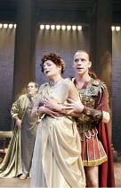 'SEJANUS' (Ben Jonson - director: Gregory Doran),l-r: Nigel Betts (Eudemus), Miranda Colchester (Livia), William Houston (Sejanus),Royal Shakespeare Company / Swan Theatre, Stratford-upon-Avon, Englan...