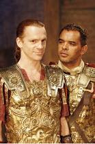'SEJANUS' (Ben Jonson - director: Gregory Doran),l-r: William Houston (Sejanus), Peter de Jersey (Macro),Royal Shakespeare Company / Swan Theatre, Stratford-upon-Avon, England               26/07/2005...