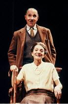 'SHADOWLANDS' (William Nicholson)~Jane Lapotaire (Joy Davidman), Nigel Hawthorne (C.S. Lewis)~Queen's Theatre, London W1                   23/10/1989