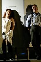'THE ELECTRIFICATION OF THE SOVIET UNION' (Osborne/Raine) Sally Silver (Sashka), Gwion Thomas (Boris Pasternak) Music Theatre Wales/Opera Vest             Everyman Theatre, Cheltenham         12/07/...