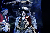 'PETER PAN' (J.M. Barrie)~l-r: David Sterne (Smee), Matthew Kelly (Captain James Hook)~Birmingham Repertory Theatre / Birmingham, England                     05/12/2002