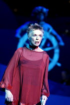 Susannah York (The Woman/Storyteller) in PETER PAN - A MUSICAL ADVENTURE at the Royal Festival Hall, London SE1  19/12/2002 based on the story by J.M. Barrie  music: George Stiles  lyrics: Anthony Dr...