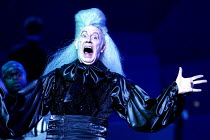 Richard Wilson (Captain James Hook) in PETER PAN - A MUSICAL ADVENTURE at the Royal Festival Hall, London SE1  19/12/2002 based on the story by J.M. Barrie  music: George Stiles  lyrics: Anthony Drew...