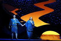 'DIE FRAU OHNE SCHATTEN' (Strauss)~Alan Titus (Barak), Gabriele Schnaut (Barak's Wife)~The Royal Opera/Covent Garden, London WC2                      09/10/2001