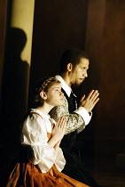 'GALILEO GALILEI' (Glass/Zimmerman/Weinstein)~Elizabeth Reiter (Young Maria Celeste), Eugene Perry (Younger Galileo)~The Goodman Theatre / BITE:02   Barbican Theatre, London EC2                    01/...