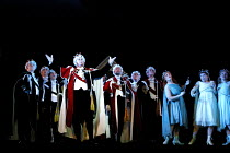 'IOLANTHE' (Gilbert & Sullivan)~front left: Gareth Jones (Earl of Mountararat)~D'Oyly Carte/Savoy Theatre, London WC2      20/02/2002