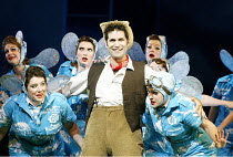'IOLANTHE' (Gilbert & Sullivan)~Jeremy Carpenter (Strephon) with fairies~Grange Park Opera              12/06/2003
