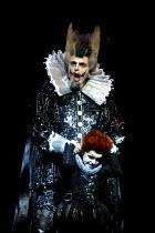 'A MIDSUMMER NIGHT'S DREAM' (Britten)~Oberon gets cross with Puck: Michael Chance, Jack Liman~Glyndebourne Festival Opera, E.Sussex, England  21/05/2001