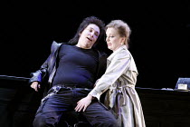 AGRIPPINA   by Handel   conductor: Daniel Reuss   director: David McVicar <br>,l-r: Christine Rice (Nerone / Nero), Lucy Crowe (Poppea)  ,English National Opera / London Coliseum  WC2...