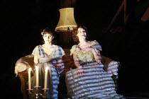 THE GLASS MENAGERIE   by Tennessee Williams   director: Rupert Goold <br>,l-r: Amanda Hale (Laura Wingfield), Jessica Lange (Amanda Wingfield),Apollo Theatre, London W1         13/02/2007,