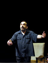 'MONOLOGUE' (Pinter)~Henry Woolf (Man)~Cottesloe Theatre/Royal National Theatre, London SE1         14/01/2002