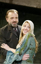 'THE LADY FROM THE SEA' (Ibsen - director: Trevor Nunn)~John Bowe (Dr Wangel), Natasha Richardson (Ellida)~Almeida Theatre, London N1                   15/05/2003
